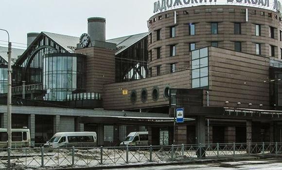 ЖД Вокзал Ладожский вокзал